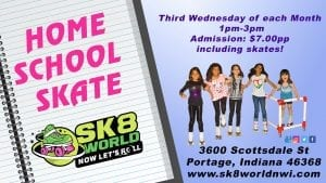 Home School Skate Ad