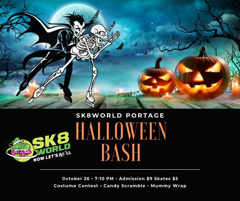 Halloween Bash at Sk8World Portage
