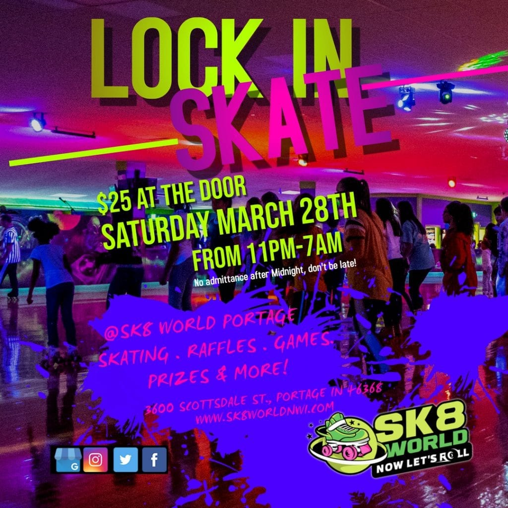 Lock In March flyer